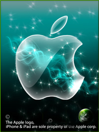 copyright Apple corp illustration, stephen mc grogan